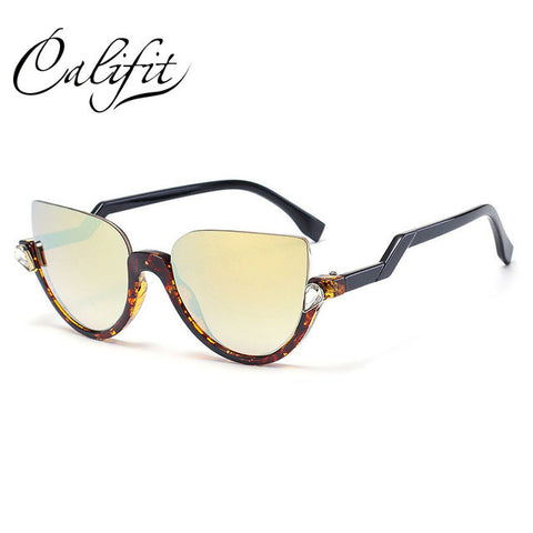 CALIFIT 2017 New Luxury Cat Eye Sunglasses - Cats Love Life