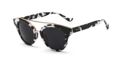 Marble Frame Cat Eye Sunglasses - Cats Love Life