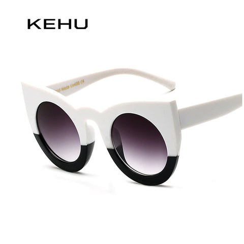 Round Plastic Cat Eye Sunglasses In Many Colors - Cats Love Life