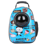 Space Capsule Shaped Breathable Backpack Cat Carrier - Cats Love Life