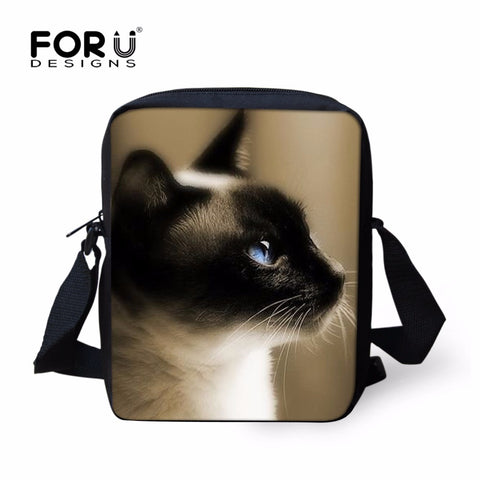 Beautiful Cat Prints Messenger Bag - Cats Love Life