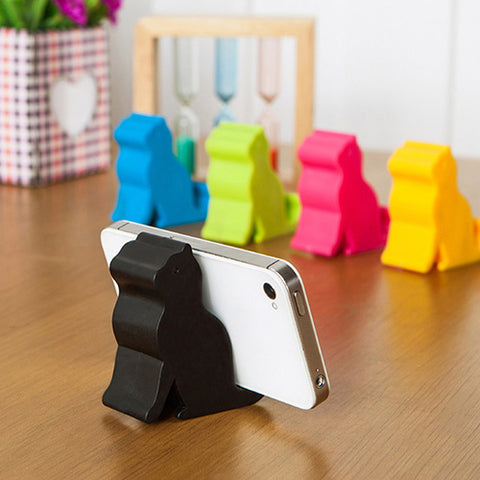 Candy Color Cat Stands For Phones And Tablets - Cats Love Life