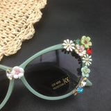 Flower Cat Eye Sunglasses - Cats Love Life