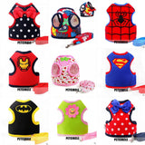 Superhero And More Soft Cat Harness Leashes