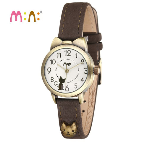 Waterproof Leather Bracelet Watch