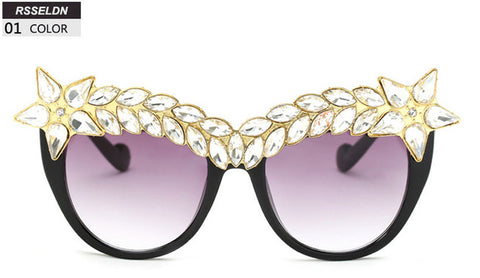 Star Studded Cat Eye Shades - Cats Love Life