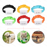 GPS Locator Pet Tracker Collar TK909 Waterproof 400 Hours IOS Android App - Cats Love Life