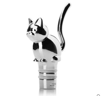 Cat Wine Bottle Stopper - Cats Love Life