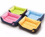 Candy Color Cozy Cat Beds