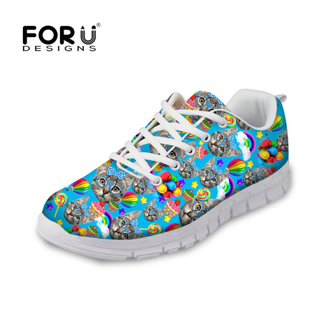 Cat Sneakers Trainers Walking Shoes - Cats Love Life