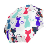 Colorful Automatic Cat Umbrella - Cats Love Life