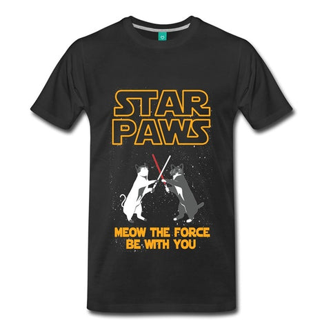 Star Paws Men's T-Shirt - Cats Love Life