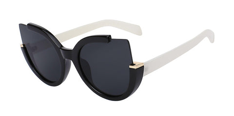 Round Retro Cat Eye Shades - Cats Love Life