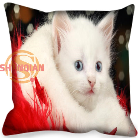 It's Always Christmas Cat Cushion Covers - Cats Love Life