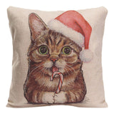 Funny Cat Cushion Covers - Cats Love Life