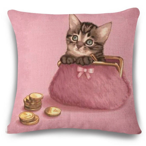 Adorable Cushion Covers - Cats Love Life