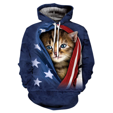 Super Fun Pullover Cat Hoodies - Cats Love Life