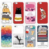 Super Funny Soft Cases For iPhone 7 7Plus 6 6S 6Plus 5 5S SE 8 8Plus X Samsung - Cats Love Life