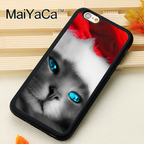 Christmas Cat Phone Cases For iPhone 6 - Cats Love Life