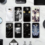 Lovely Eyes Cat Phone Case For Samsung Galaxy J3 J5 J7 A3 A5 - Cats Love Life