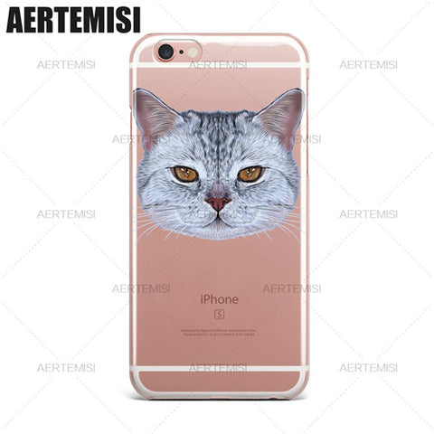 Different Cat Breeds Cases For iPhone 5 5s SE 6 6s 7 Plus - Cats Love Life