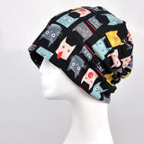 Silly Cat Pattern Beanie Knitted Cap - Cats Love Life