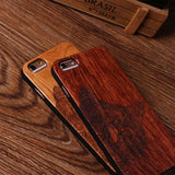 Looks Like Wood Cat Case For iPhone 7 Plus 6 6S 8 8 Plus X And Samsung Galaxy S7  S6 S8 Edge - Cats Love Life