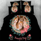It's A Beautiful Day Cat Sheets - Cats Love Life