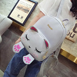 Cat Backpack With Pink Paws - Cats Love Life