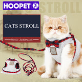 Fancy Bowtie Cat Walking Harness Jacket And Leash - Cats Love Life