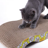 Corrugated Scratch Pad Cat Toy - Cats Love Life