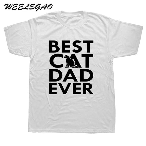 Best Cat Dad Ever T-Shirt In Many Colors