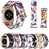 Colorful Cat And Other Watchbands For Apple Watch 42/38mm - Cats Love Life