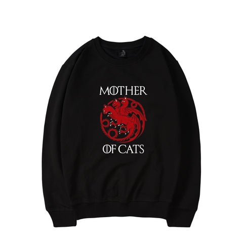 Mother Of Cats Sweatshirt In Many Colors - Cats Love Life