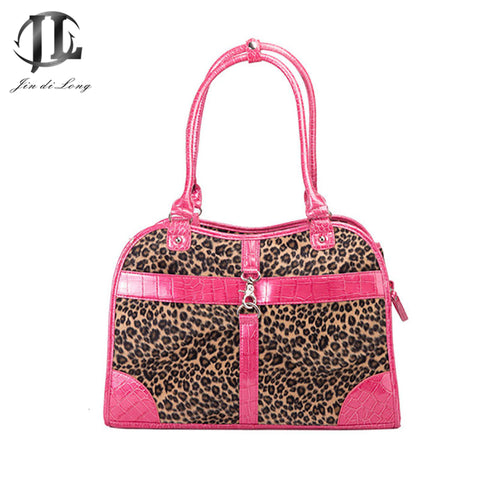 Leopard Stylish Sturdy Cat Carrier