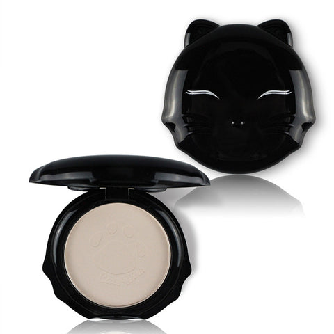 Cats Wink Pressed Powder With Puff Smooth Foundation