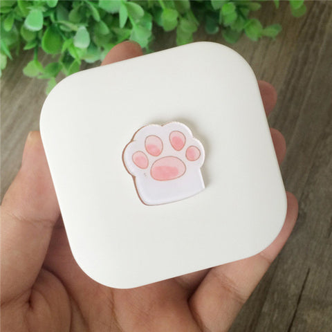 Cute Cat Claw Contact Lens Case Holder Box