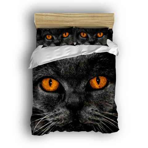 Beautiful Cat Eyes Bedding Set