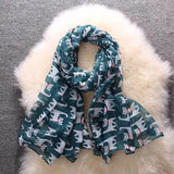 Bali Beach Luxury Cat Pattern Shawl Wrap