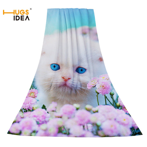 Cute Cats Summer Beach Towels Or Custom