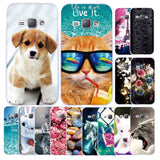 Colorful Cat And Friends Phone Case For Samsung Galaxy