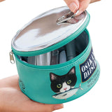 Cat Food Can Cosmetic Bag