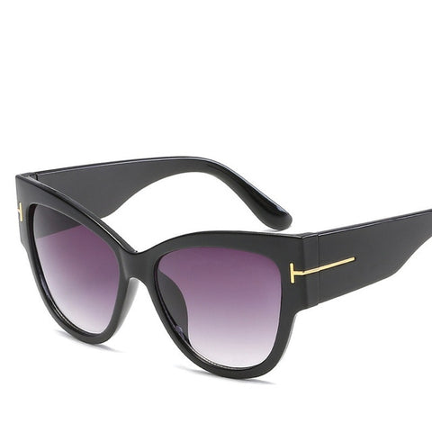 New Classic Brand Designer Cat Eye Sunglasses