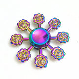 Metal Paw Print Rainbow Fidget Spinner And Others
