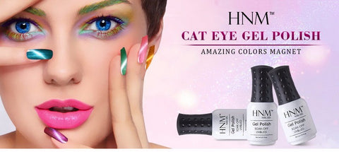 HNM Magnetic Cat Eyes Gel Polish 75 Colors 8ml UV Gel - Cats Love Life