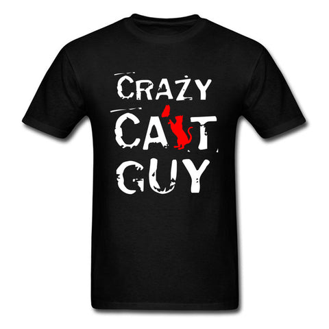 Crazy Cat Guy T-Shirt