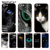 Colorful Cat Eyes Case For iPhone 8 7 6 6S Plus X 5S SE 5C
