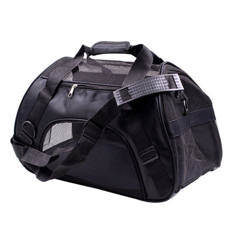 Portable Breathable Cat Carrier Shoulder Bag