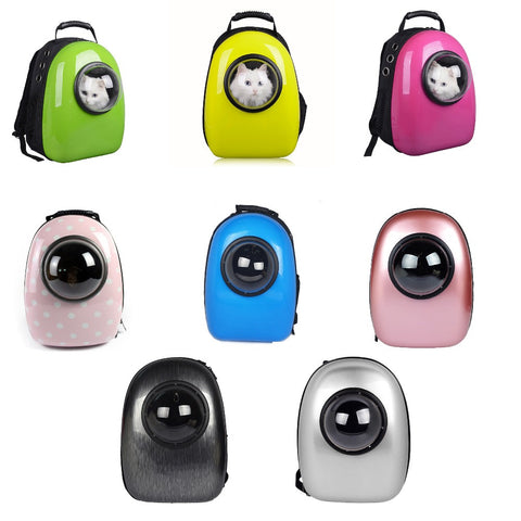 Space Capsule Shaped Backpack Cat Carrier - Cats Love Life