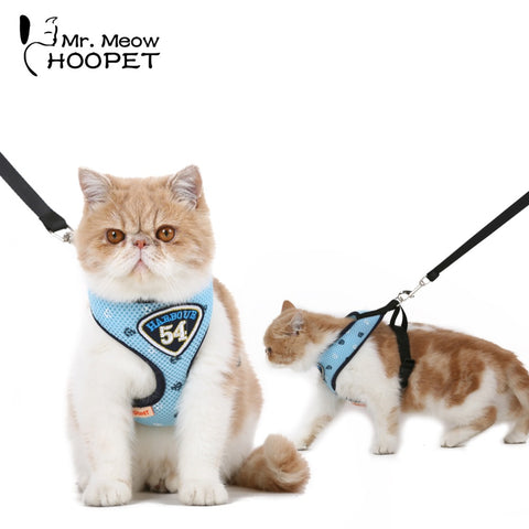 Cozy Harness Vest Cat Leash Suit - Cats Love Life